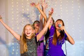 kids enjoy karaoke